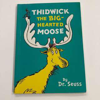 $3 IF BY MAIL ! Thidwick The Big-Hearted Moose by Dr. Seuss