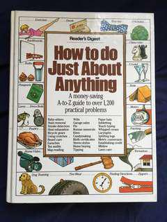 Readers Digest How to do Just About Anything