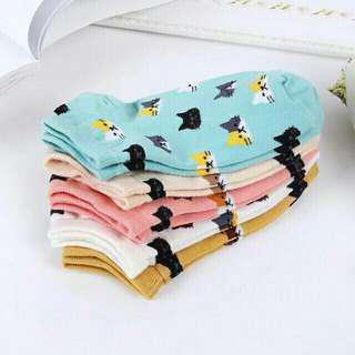 Cute Animal Printed Socks