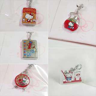 🚚 Hello Kitty墬子吊飾(5款)