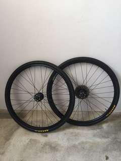 Shimano DEORE Wheelset 26 inches