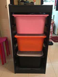 Ikea 收納櫃 3櫃桶 3 Drawers