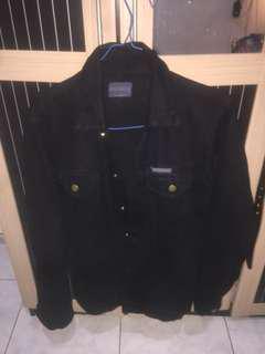 Jaket jeans roughneck 1991 black
