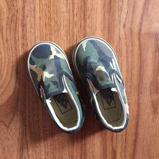 Vans Camouflage Slip-ons