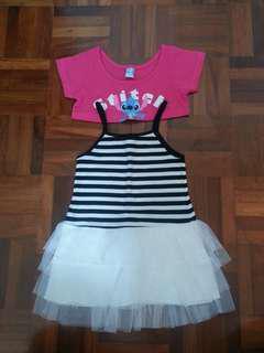 Lilo & Stitch cardigan / skirt set