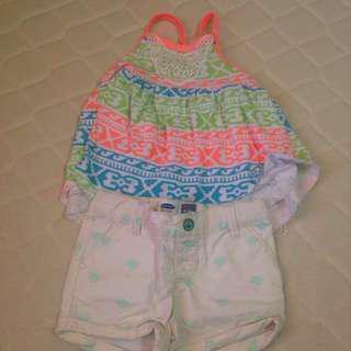 Little Lass and Old Navy summer wear (bundle)