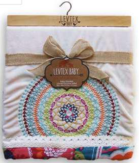 🚚 Levtex Baby Blanket Boho Collection