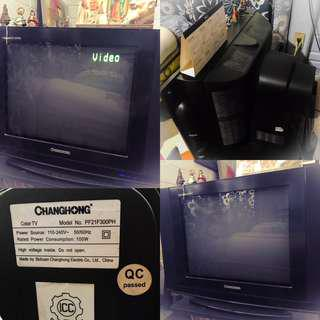 Secondhand Changhong TV