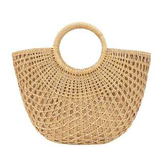 Straw Beach Large Bag #XMAS25
