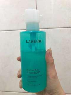 Laneige perfect pore oil cleanser