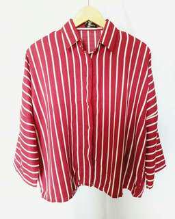 Stripes Shirt Becca by Poshy