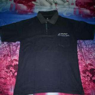 Obral Jual Murah Polo Shirt Hitam Tetra Pack