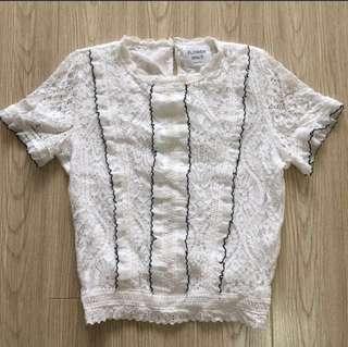 🇰🇷 韓國製lace上衣