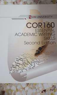 Cor 160 essential academic writing skills