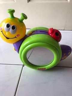 Snail crawling toy