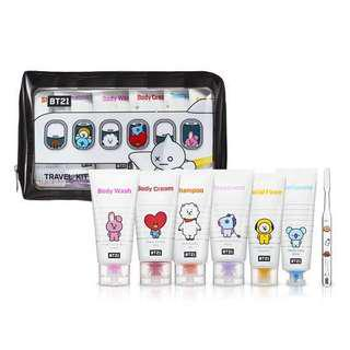 BTS BT21 x OLIVE YOUNG Travel Kit Loose
