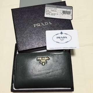 Authentic Prada Wallet - Portafoglio Lampo