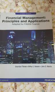 Financial Managenent: Principles and Applications