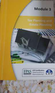 Tax planning and estate planning