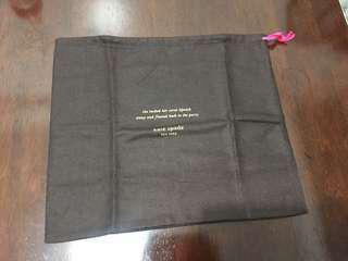 Authentic kate spade dustbag