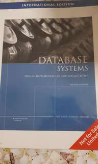 Database systems ; Eighth Edition