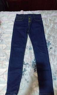 MIU 韓版牛仔褲