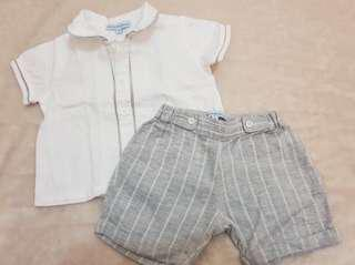 Periwinkle jr Christening outfit