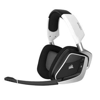 BNIB Corsair Void Pro RGB USB Gaming Headset - Dolby 7.1 Surround Sound Headphones for PC - Discord Certified - 50mm Drivers - White
