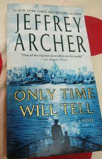 Only Time Will Tell (novel) Jeffrey Archer