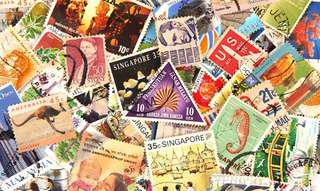 LOOKING FOR USED SINGAPORE STAMPS