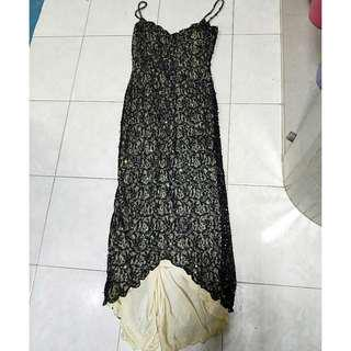 New with tag Black evening dress