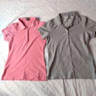 Bundle polo shirts
