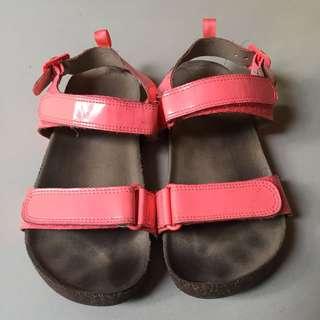 H&M peach sandals