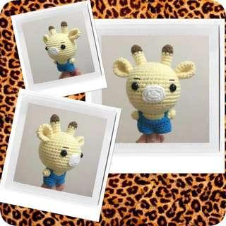 Little Giraffe 🦒- Amigurumi Crochet Doll
