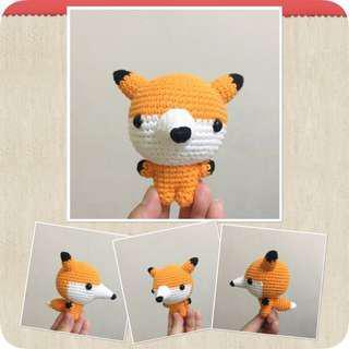 Little Fox 🦊 - Amigurumi Crochet Doll