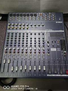 PA System Yamaha powered mixer emx5014c