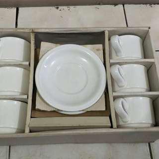 12 pc tea set / set gelas cangkir  teh.