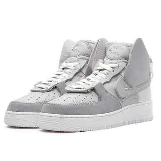 buy popular 4ce96 057fe Authentic PSNY x Nike Air Force 1 High Matte Silver Grey