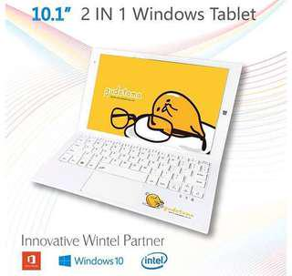 Gudetama Tablet GD10 Windows 10 Limited Edition