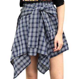 Women's vintage high waist skirt