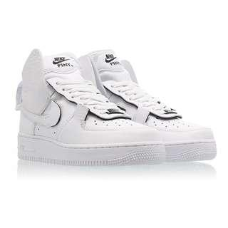 newest 4243c 7558f Authentic PSNY x Nike Air Force 1 High White