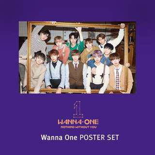 [PREORDER] Wanna One Official Poster Set (Nothing Without You) ⠀