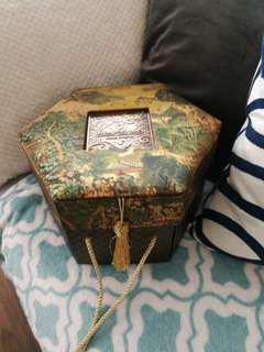 Vintage Shangri La box