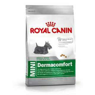 Makanan anjing royal canin dermacomfort 2kg (untuk kulit bermasalah)
