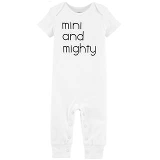 🚚 CABY130 Carter's Baby Girls Boys Mini And Mighty Jumpsuit