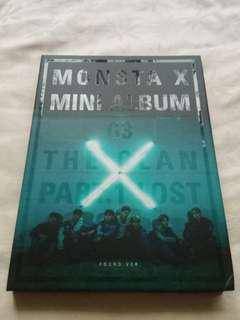 🚚 MONSTA X mini album FOUND.ver 迷你專輯