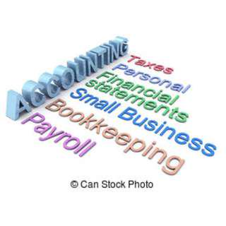 Provides Accounting services, Certification of Accounts for submission to relevant parties