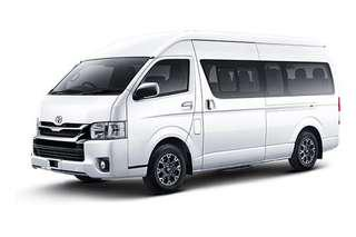13 seater Toyota Hiace High roof