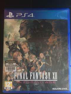 PS4 Final Fantasy XII The Zodiac Age 黃道時代 中文版