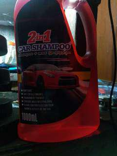 2 in 1 Car shampoo